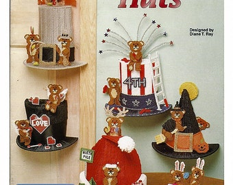 Plastic Canvas Holiday Hats  Pattern Book The Needlecraft Shop 943934