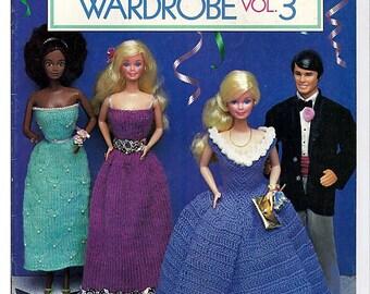 Barbie and Ken Fashion Doll Wardrobe Vol. 3  Knit and Crochet Doll Patterns
