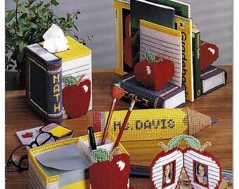 Apples for the Teacher Plastic Canvas Pattern Book American School of Needlework 3147