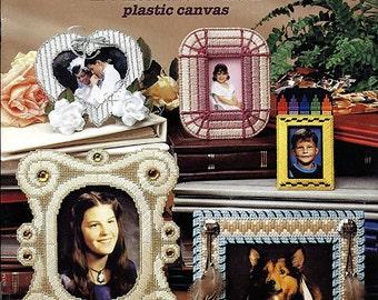 Photo Frames in Plastic Canvas Pattern Book 3134 American School of Needlework