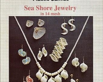 Sea Shore Jewelry in 14 Mesh Plastic Canvas Pattern book 36564
