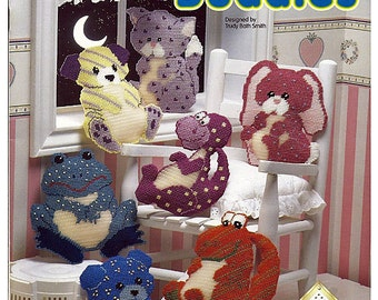 Glow Buddies Plastic Canvas Pattern  Book The Needlecraft Shop 913707