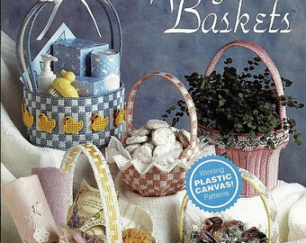 Springtime Baskets Plastic Canvas Pattern The Needlecraft Shop 913905