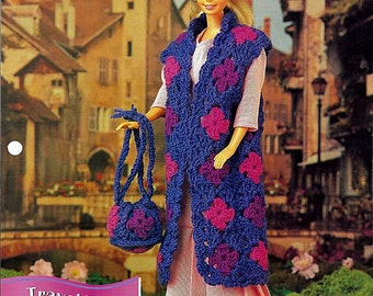 Travel Trio Crochet Pattern Annies Fashion Doll Crochet Club