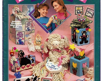 Plastic Canvas and Dolls, Too from California Country  Pattern Book no. 026
