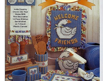 Country Geese Plastic Canvas Patterns The Needlecraft Shop 973074