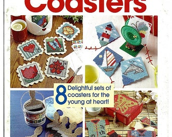 Fun Time Coasters Plastic Canvas Pattern The Needlecraft Shop 844931