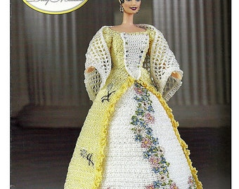 First Ladies of America Collection Dolly Madison Fashion Doll  Crochet Pattern  Annies Attic 8504