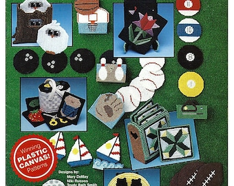 Collectible Coasters Plastic Canvas Pattern  The Needlecraft Shop 903301