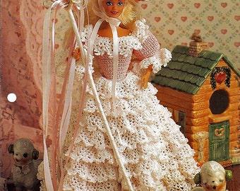 Little Bo Peep Crochet Pattern Annies Fashion Doll Crochet Club FCC12-01