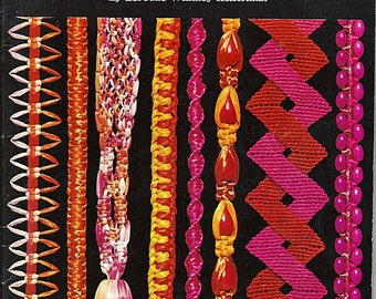 Macrame A New Look at an Ancient Art Macrame Pattern Book LJ-220