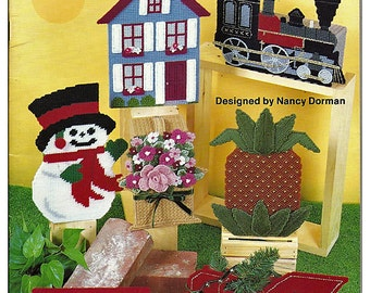 Brick Covers for  Plastic Canvas Pattern Kappie Originals Book 150