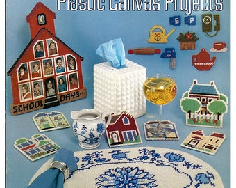 Easy to Make Plastic Canvas Projects Volume I   American School of Needlework Booklet S-13