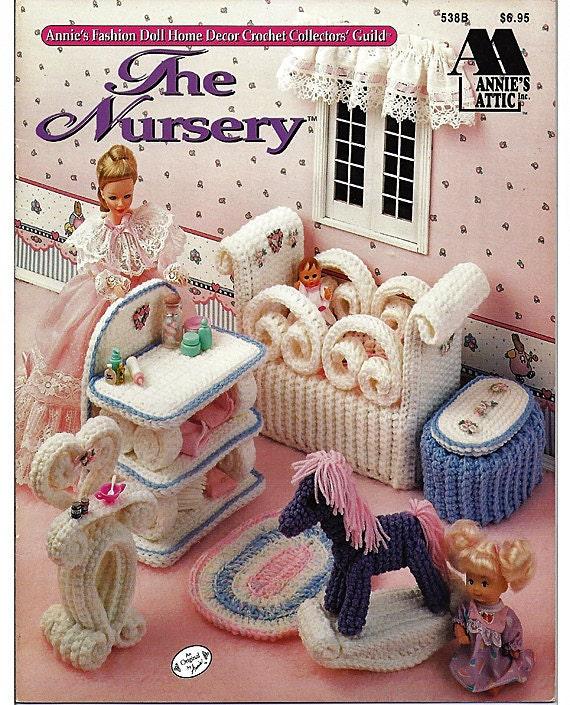 Barbie Furniture The Nursery Annies Attic Fashion Doll