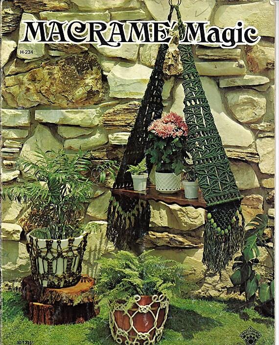 Macrame Magic Pattern Book H234