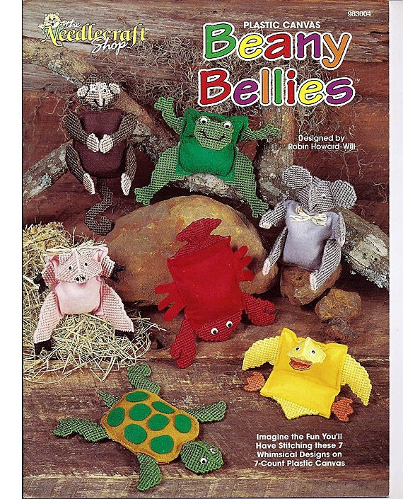 Beany Bellies Plastic Canvas Pattern Book The Needlecraft Shop 983004