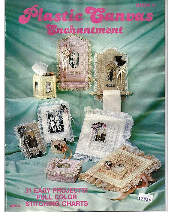 Plastic Canvas Pattern Enchantment Book 3