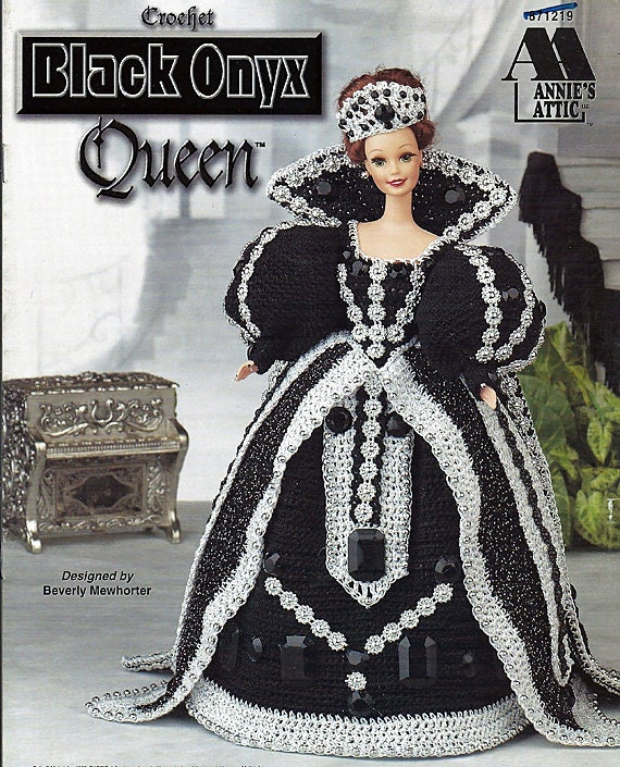 Black Onyx Queen Crochet Pattern Annies by grammysyarngarden