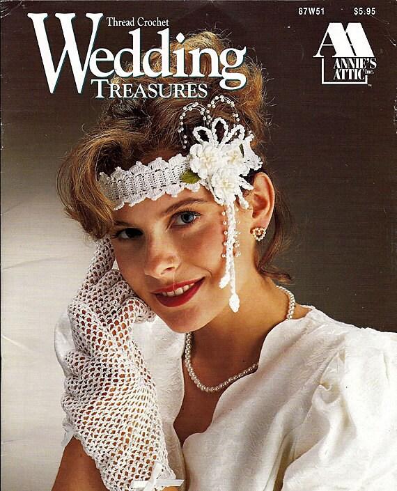 Wedding Treasures Thread Crochet Pattern  Annies Attic 87W51