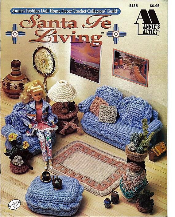 Barbie Furniture Santa Fe Living Annies Attic Crochet