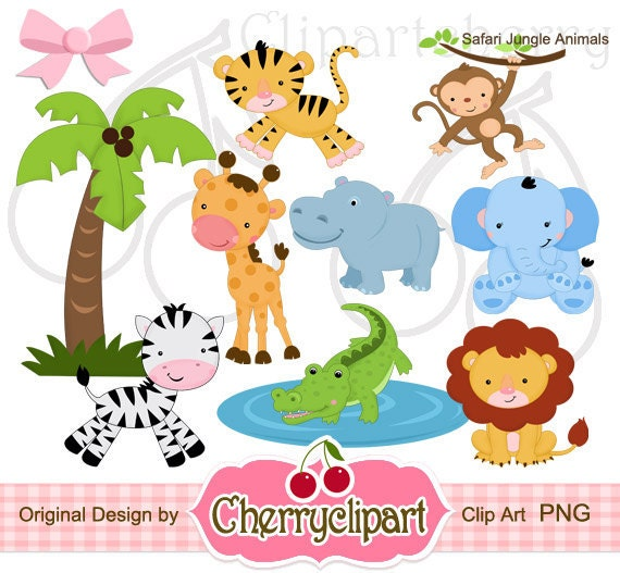 jungle print clip art - photo #44