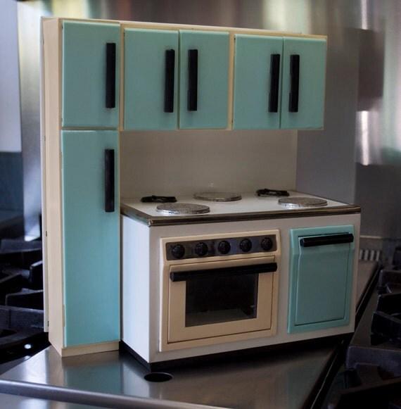 Items Similar To 1960's Retro Italian Toy Kitchen On Etsy