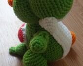 Crochet amigurumi Yoshi