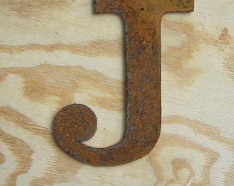 """Metal letter """"J"""""""