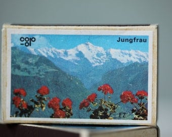 Matchboxes from Switzerland