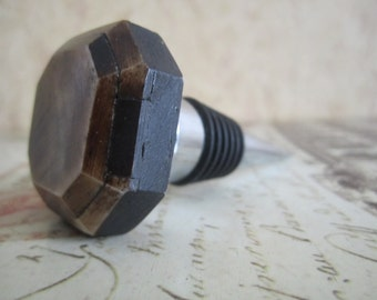 Wine Bottle Stopper - Octagon Bone Wine Stopper