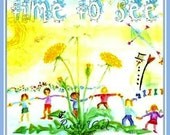 "Waldorf Songs For Children. ""Time To See.""  Music CD by Singer/Songwriter Rusty Vail."