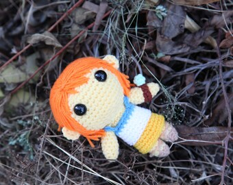 PATTERN: Nami (One Piece) - Amigurumi crochet pattern (PDF File)