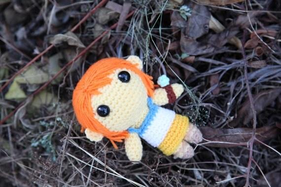 Amigurumi One Piece Pattern : PATTERN: Nami One Piece Amigurumi crochet pattern by ...