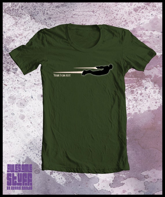 Iron man tshirt - Mens avengers Yeah I can fly