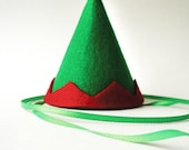 Christmas Elf Party Hat Costume For Dogs