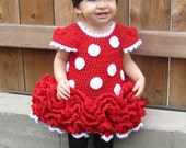 PATTERN Minnie Mouse Dress and Ears
