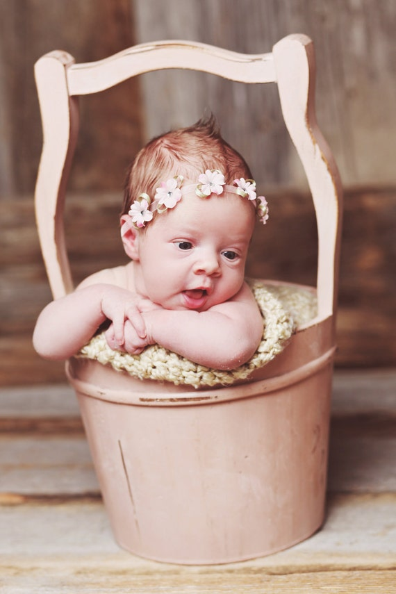 Baby Headband, Baby Bow, Flower Headband, Newborn Bows, Newborn Headband, Baby Headbands, Chloe Reese Headband