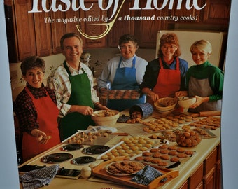 Vintage Premiere Edition of Taste of Home Magazine 1993