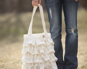 Ruffles and Lace Purse