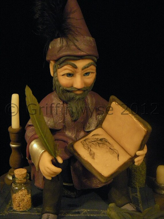Wizard, Figurine, Art, Wizard sculpture- Sale - Taliesin.