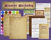Harry Potter Inpsired Kids Imaginative Play Package, WIZARDS WORKSHOP: Pretend Play Kit With Crafts, Printables, and More, PDF File