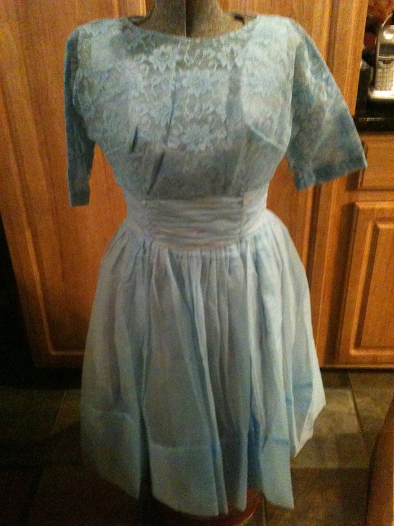 Vintage 1960s Prom Type Dress CLEARANCE 50% Off Was 89.00