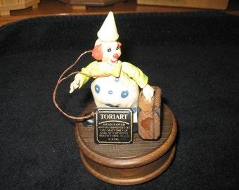 New York New York Anri Music Box Toriart Vintage