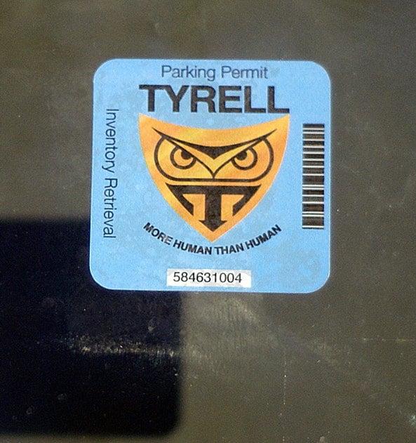Nexus 6 tyrell corporation patch