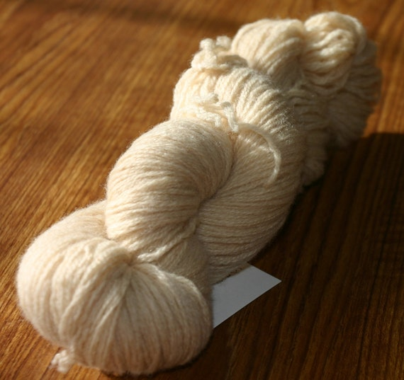 Recycled Sport Weight Wool Yarn