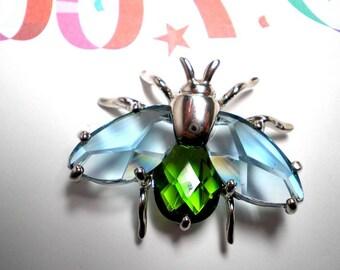 Brooch  Unusual  Moth  signed MX     Item No: 15537