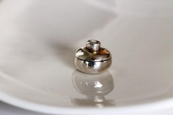Fine Silver Tooth Fairy Box - Fine Silver Wish Bowl, Artisan, Modern Handmade Metalwork by Girlthree