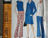 DISCOUNTED 1960's McCall's Blouse, Skirt, Pants and Jacket Pattern - Bust 36 - no. 8091