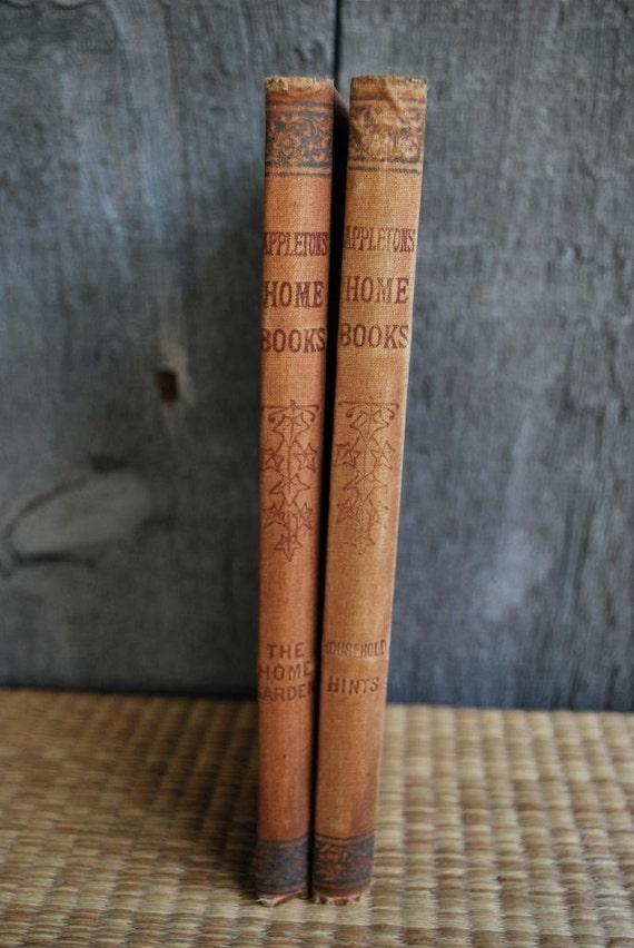 vintage book set: Appleton's Home Books