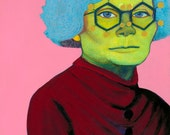 Kathleen Yardley Lonsdale Art Print